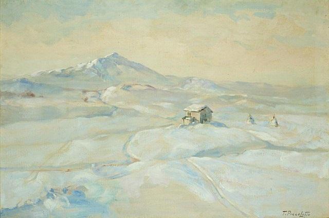 alpine snow by tony piccolotto