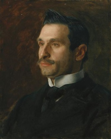 portrait of francesco romano by thomas eakins