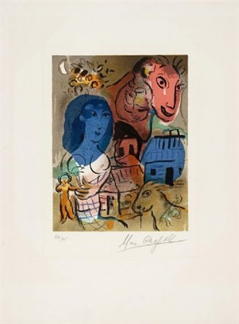 xx siecle - hommage a marc chagall by marc chagall