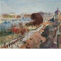 le pont des arts by lucien adrion