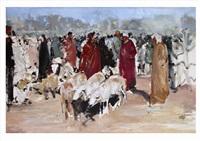 marché aux moutons by habib kibari