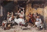 la danse des sabres by paul yoanovitz