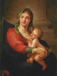 virgen con el niño by joan carlos anglés