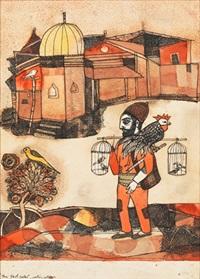 fowl seller by badri narayan