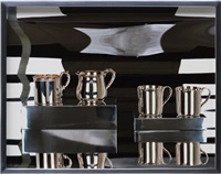 sterling silver cups by elad lassry