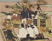 le marché des tapis à mopti by marcelle ackein