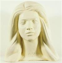 portrait of a woman by khaled al-rahhal
