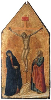 the crucifixion by pietro lorenzetti