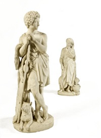 jacob (+ rachel; pair) by ferdinando andreini