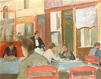 café, dieppe by guy roddon