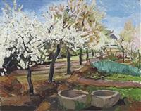 blühende obstbäume by erhard hippold