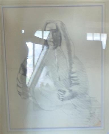 portrait d homme au verre by léopold survage