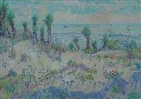 florida beach scene by anna elizabeth allen