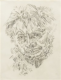 autoportrait de l'artiste by andré masson