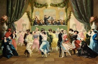 le bal a masque nice by louis francois picard