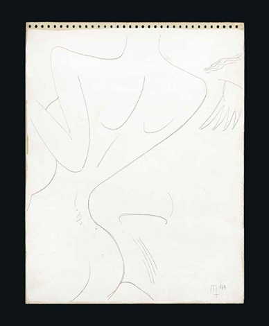 nude by man ray