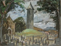 an ceann comhairle grave - 1980 - buckless co donegal by kitty wilmer o'brien