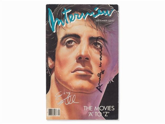 ANDY WARHOL Interview Magazine OCT 1976 Catherine Deneuve Tom Brokaw Vintage