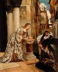 a venetian courtship by josef hendrik hubert lies