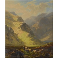glen strae, argyleshire by william davies