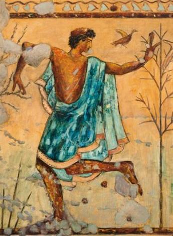 a eulogy to art & life, etruscan dancer by david bierk