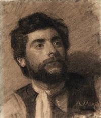 roman peasant by anton laurids johannes dorph