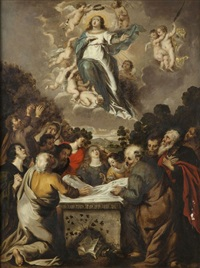l'assomption de la vierge by cornelis schut the elder