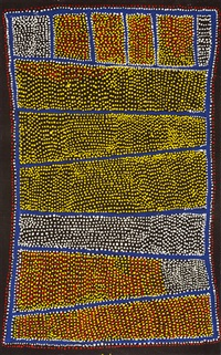 ngapa jukurrpa (water dreaming) by shorty robertson jangala