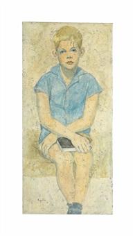 portrait of charles tobler by louay kayyali