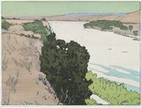 california 1, salinas river by frank morley fletcher