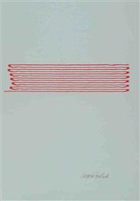 ohne titel. drei bll. maschinenzeichnungen (3 works) by angela bulloch
