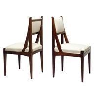 pair of chairs by jacob pieter van den bosch
