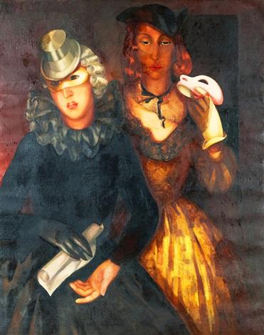 masquerade by lydia dmitrievsky