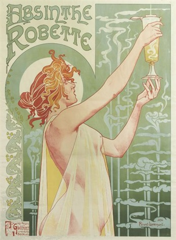 absinthe robette by henri privat livemont