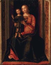 madonna con il bambino by galeazzo campi