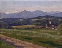 salzburger landschaft by anton filzmoser
