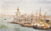 a view of venice by sir samuel luke fildes