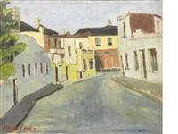a deserted street by freida lock