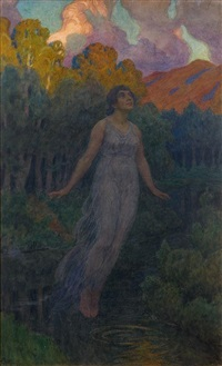 ophélie by fjodor ivanovitch rerberg