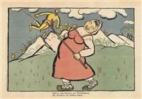 an austrian went to radziwill by kazimir malevich