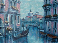 venice in blue by bassari