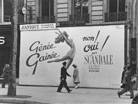 scandale (paris) by ilse bing
