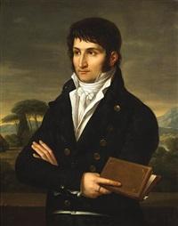 a portrait of lucien bonaparte by francois-xavier fabre