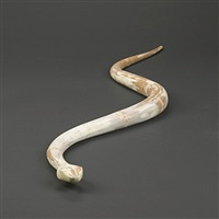 snake lamp form by frank gehry