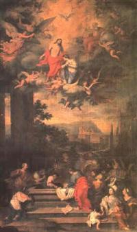 l'assomption de la vierge by bertholet i flemal