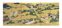 scenes from the tale of genji by anonymous-japanese (18)