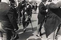 hoboken, new jersey parade, 1955 by robert frank