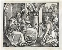 frag und antwurt der zehen gebott: wie man die halte sol . . . (bk by marquard von lindau w/10 works) by hans baldung grien