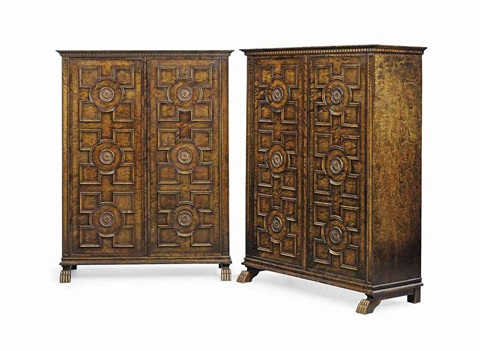 cabinets pair by axel einar hjorth