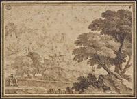 paysage montagneux animé by adam perelle